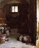 Pressing the Grapes Florentine Wine Cellar 1882 - John Singer Sargent