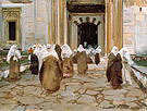 Door of A Mosque 1891 - John Singer Sargent