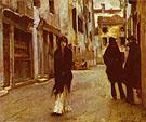Street in Venice 1882 - John Singer Sargent