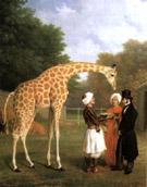 The Nubian Giraffe 1827 - Jean Laurent Agasse