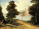 Landscape with a Lake 1804 - Washington Allston