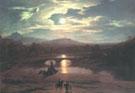 Moonlit Landscape 1819 - Washington Allston