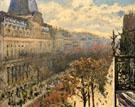 Boulevard des Italians 1880 - Gustave Caillebotte