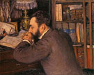 Portrait of Henri Cordier 1883 - Gustave Caillebotte