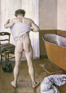 Man at his Bath 1884 - Gustave Caillebotte