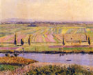 The Gennevilliers Plain Seen from the Slopes of Argenteuil 1888 - Gustave Caillebotte