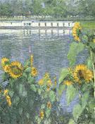 Soleils au Bord de la Seine 1886 - Gustave Caillebotte