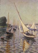 Regattas at Argenteuil 1893 - Gustave Caillebotte