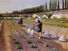 The Gardeners c1876 - Gustave Caillebotte