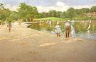 The Lake for Miniature Yachts 1888 - William Merritt Chase