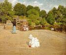 A Bit of the Terrace 1890 - William Merritt Chase