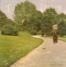 A Gray Day in the Park 1890 - William Merritt Chase