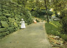 In the Park A by Path 1890 - William Merritt Chase