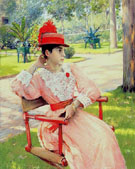 Afternoon in the Park 1887 - William Merritt Chase