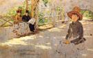 Woman under Trellis 1886 - William Merritt Chase