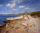 A Sunny Day at Shinnecock Bay 1892 - William Merritt Chase