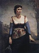 Agostina 1866 - Jean Baptiste Corot