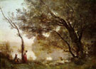 Souvenir of Mortefontaine 1864 - Jean Baptiste Corot