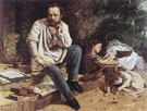 The Proudhon Family in 1853 - Gustave Courbet