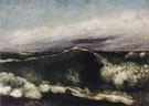 The Wave 1869 - Gustave Courbet