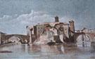 Island of San Bartolomeo Rome - Gustave Courbet