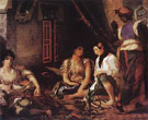 Woman of Algiers in Their Apartment 1834 - Eugene Delacroix