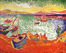 Boats at Collioure Harbour 1905 - Andre Derain