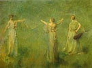 The Garland 1899 - Thomas Wilmer Dewing