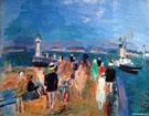 Fete Nautique au Havre 1925 - Raoul Dufy
