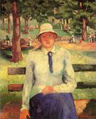 Unemployed Girl 1904 - Kazimir Malevich