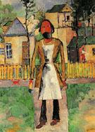 Carpenter 1927 - Kazimir Malevich