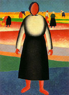 The Harvest After 1928 - Kazimir Malevich