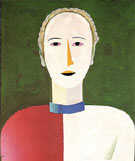 Portrait of a Woman c1928 - Kazimir Malevich