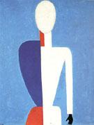 Half Length Portrait Bust c1928 - Kazimir Malevich