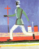 Running Man c1923 - Kazimir Malevich