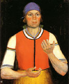 The Worker 1933 - Kazimir Malevich