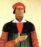 Self Portrait 1933 - Kazimir Malevich