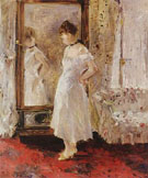 The Psyche The Cheval Glss 1876 - Berthe Morisot