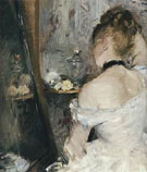 Lady at Her Toilet 1875 - Berthe Morisot