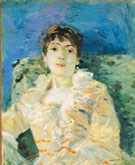 Girl on a Divan - Berthe Morisot