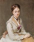 Portrait of Emma 1870 - Berthe Morisot