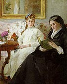 The Mother and Sister of the Artist 1869 - Berthe Morisot