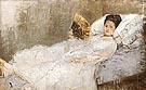 Portrait of Mme Hubard 1874 - Berthe Morisot