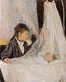 The Cradle 1872 - Berthe Morisot