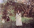 Chasing Butterfkies 1874 - Berthe Morisot