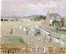 Hanging the Laundry out to Dry 1875 - Berthe Morisot