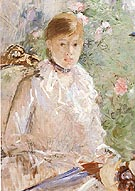 Summer Young Woman by a Window 1878 - Berthe Morisot