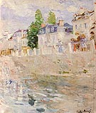 The Quay at Bougival - Berthe Morisot