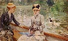 A Summer Day 1879 - Berthe Morisot