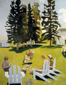 July - Fairfield Porter